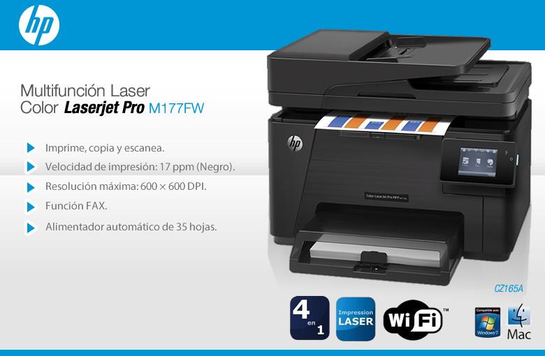 Impresoras Hp Laser Color Multifuncion Por Menos De Lo Que Crees